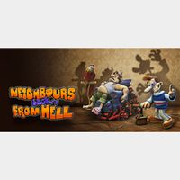 Neighbours back From Hell STEAM Key GLOBAL