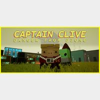 Captain Clive: Danger From Dione STEAM Key GLOBAL
