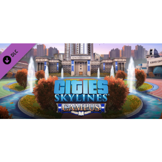 Cities: Skylines - Campus DLC STEAM Key GLOBAL