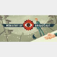 Ministry of Broadcast GOG Key GLOBAL