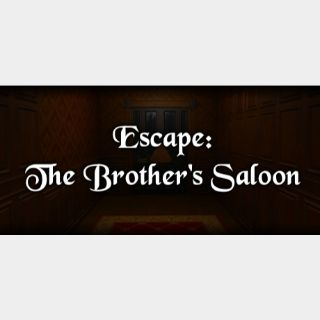 Escape: The Brother's Saloon STEAM Key GLOBAL