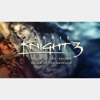 Gabriel Knight 3: Blood of the Sacred, Blood of the Damned GOG Key GLOBAL