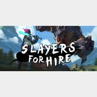 SLAYERS FOR HIRE STEAM Key GLOBAL