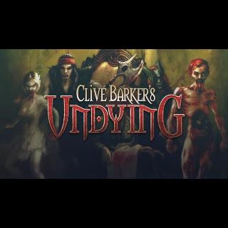 Clive Barker's Undying GOG Key GLOBAL