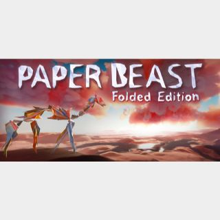 Paper Beast - Folded Edition STEAM Key GLOBAL