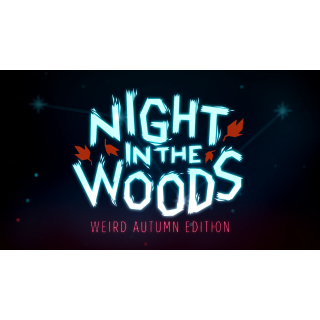 Night in the Woods: Weird Autumn Edition GOG Key GLOBAL
