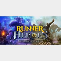RUNNER HEROES: The curse of night and day STEAM Key GLOBAL