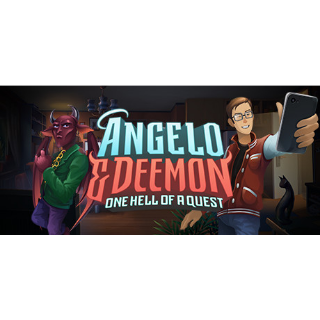 Angelo and Deemon: One Hell of a Quest STEAM Key GLOBAL