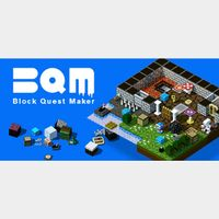 BQM - BlockQuest Maker- STEAM Key GLOBAL