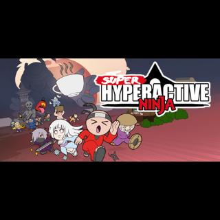 Super Hyperactive Ninja SWITCH EUROPE Region