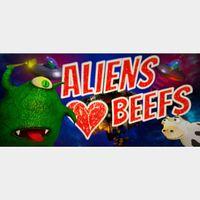 Aliens Love Beefs STEAM Key GLOBAL