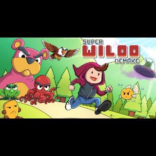 Super Wiloo Demake PS4 EUROPE Region