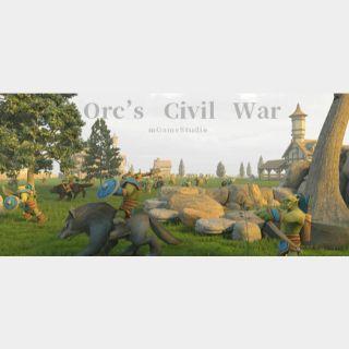 Orc's Civil War STEAM Key GLOBAL
