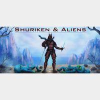 Shuriken and Aliens STEAM Key GLOBAL