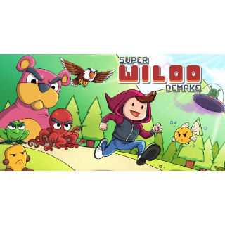 Super Wiloo Demake PS4 US Region