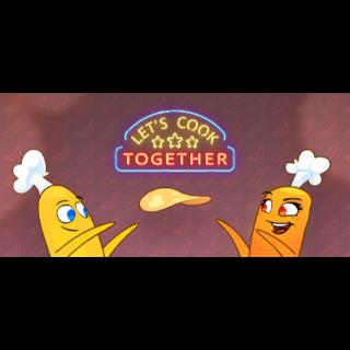 Let's Cook Together STEAM Key GLOBAL