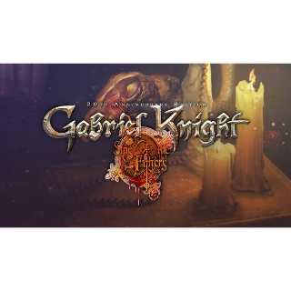 Gabriel Knight: Sins of the Fathers – 20th Anniversary Edition GOG Key GLOBAL