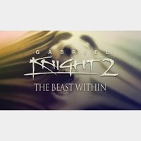 Gabriel Knight 2: The Beast Within GOG Key GLOBAL