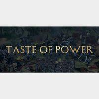 Taste of Power STEAM Key GLOBAL