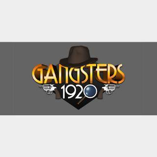 Gangsters 1920 STEAM Key GLOBAL