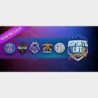 Esports Life Tycoon STEAM Key GLOBAL