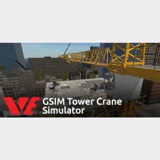VE GSIM Tower Crane Simulator STEAM Key GLOBAL