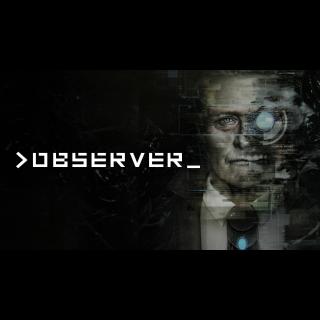 >observer_ GOG Key GLOBAL