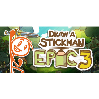 Draw a Stickman: EPIC 3 STEAM Key GLOBAL
