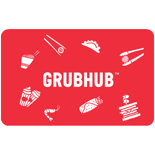 $25.00 GrubHub [INSTANT DELIVERY]