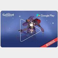 $25.00 Google Play   - CANADA ONLY - Genshin impact surprise bundle.