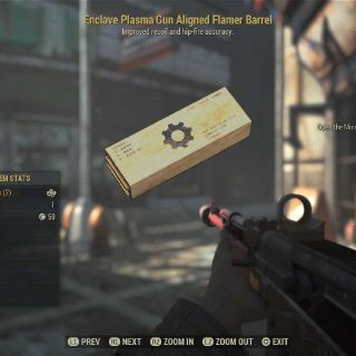 Weapon | ENCLAVE Flamer MOD