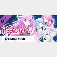 Hyperdimension Neptunia Re;Birth2 Deluxe Pack DLC Only (Instant Delivery)