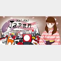 Koi-Koi Japan [Hanafuda playing cards] (Instant Delivery)
