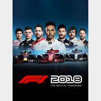 F1 2018 (Instant Delivery)