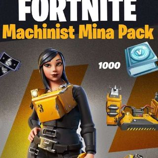 Fortnite Machinist Mina Pack