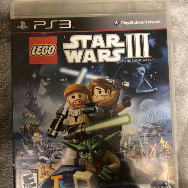Lego Star Wars Iii The Clone Wars Ps3 Ps3 Games Good