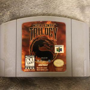 Mortal Kombat Trilogy N64