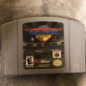 NFL Blitz 2001 N64
