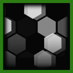 Hex Tide   Forest Green