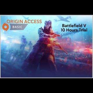 1 Month Origin Access Basic DIGITAL KEY GLOBAL [INSTANT DELIVERY] Battlefield 5 V 10 Hours Trial