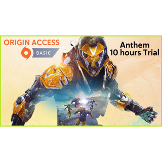 1 Month Origin Access Basic DIGITAL KEY GLOBAL [INSTANT DELIVERY] Anthem 10 Hours Trial