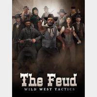 The Feud: Wild West Tactics STEAM CD Key - GLOBAL - REGION FREE