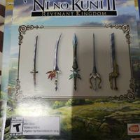 DLC Day One Sword Set Ni No Kuni II Revenant Kingdom (PS4)