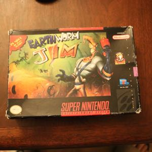Earthworm Jim in box