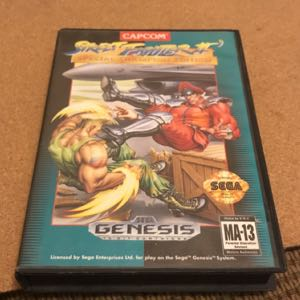 Street Fighter 2 Special Champions edition complete