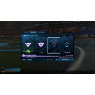 I will boost you to Champ Rewards on Rocket League