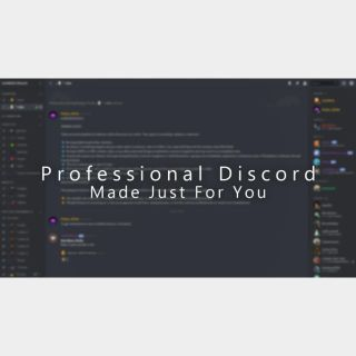 I will create Customized Discord Server