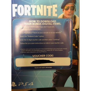 Fortnite royal bomber skin + 500 vbucks