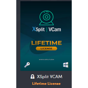 XSplit VCAM Lifetime License