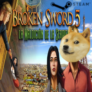 Broken Sword 5: The Serpents Curse |Steam Key Global|